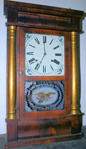 A 19th-century Chauncey Jerome clock