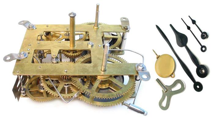 Inside a Grandfather Clock