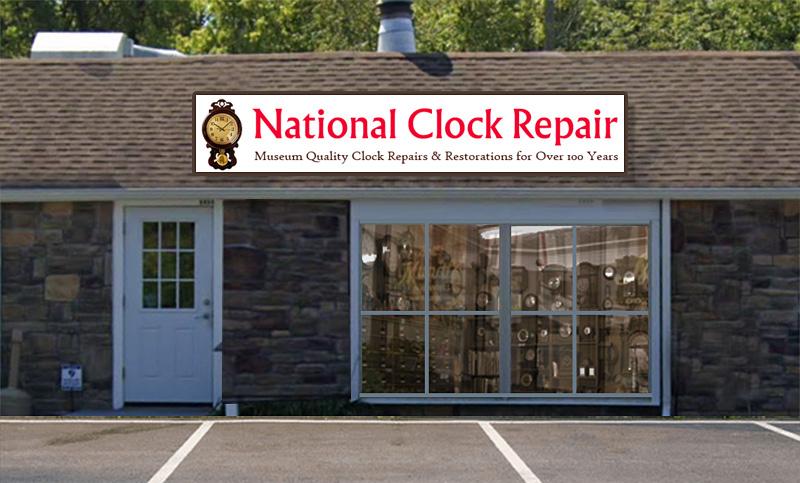 National Clock Repair Store Front