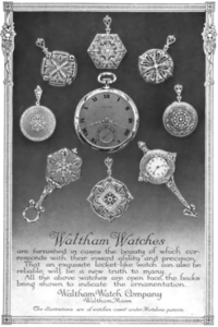 Magazine advertisement from 1913